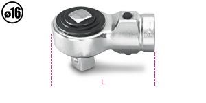 Cricchetto semplice per barra dinamometrica  beta 614/50 - dettaglio 1