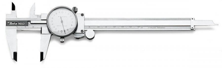 Calibri cinquantesimale con comparatore beta 1652 - dettaglio 1