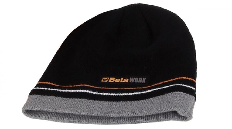 Beta cappellino lana black - dettaglio 1