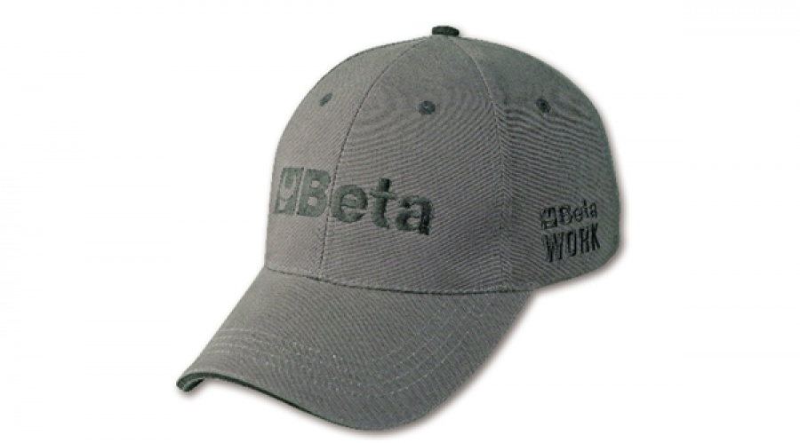 Beta cappellino workwear canvas grey - dettaglio 1