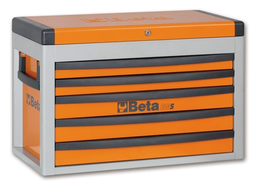 Cassettiera portatile 5 cassetti  beta c23s - dettaglio 1
