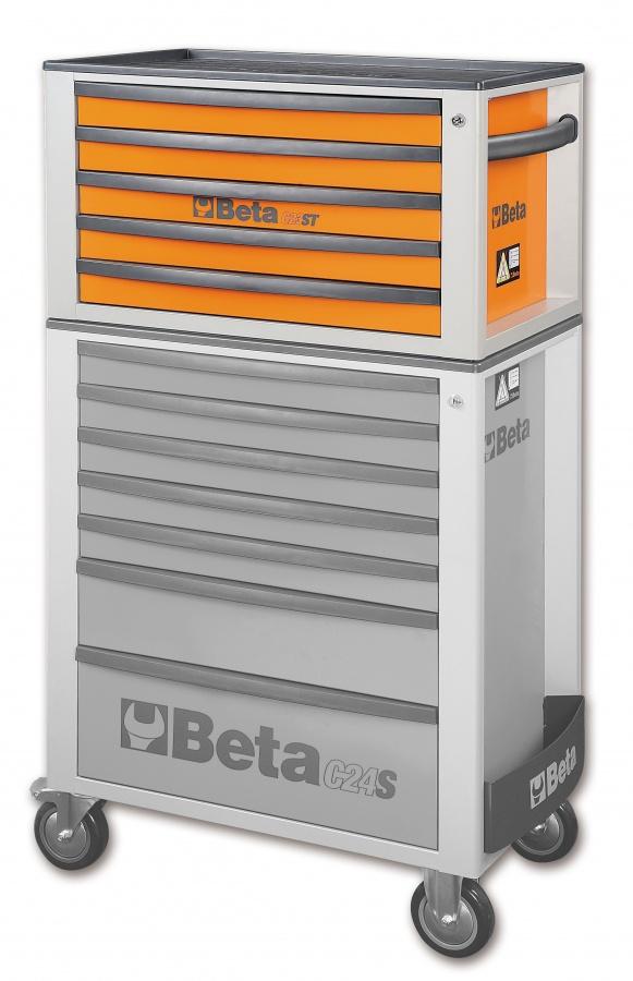 Cassettiera portatile 5 cassetti  beta c23st  composizione