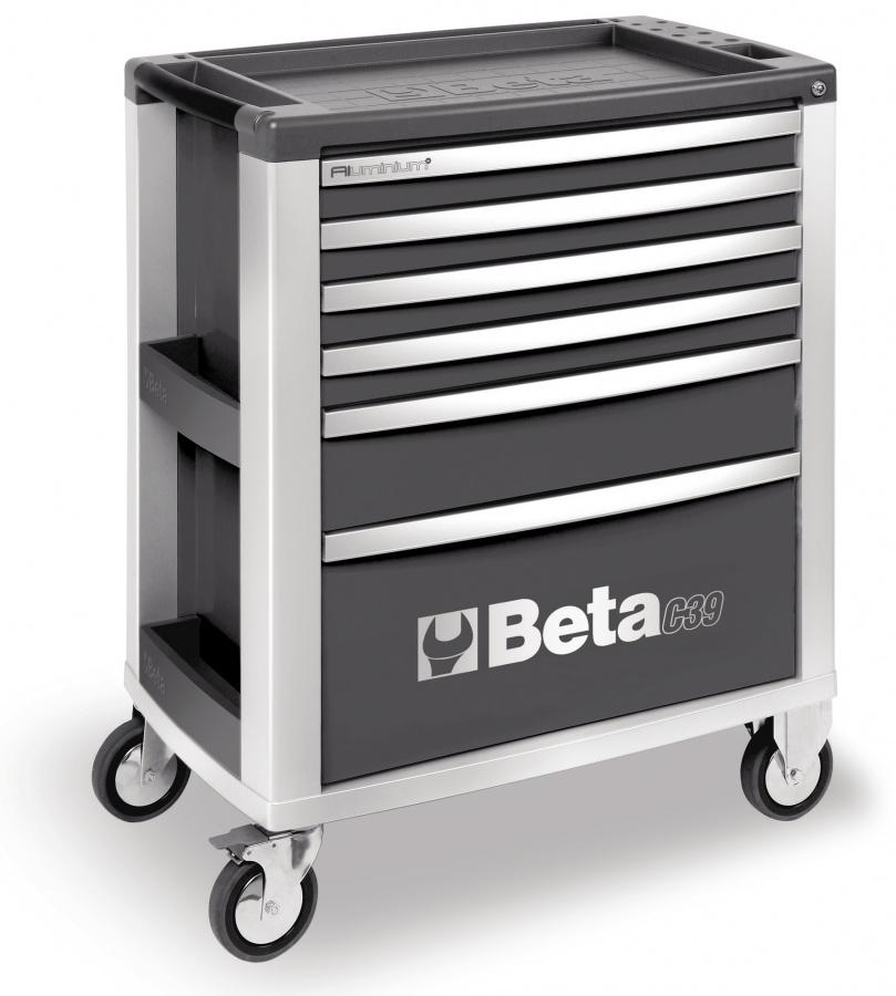 Cassettiera mobile 6 cassetti  beta c39/6 gray