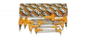 Serie chiavi maschio esagonale con impugnatura pollici beta 96t/as10 - dettaglio 1