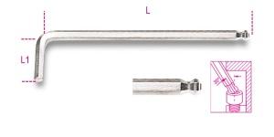 Chiave maschio esagonale  beta 96bpc - dettaglio 1