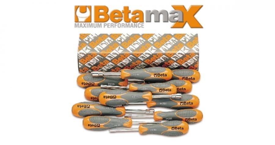 Serie chiavi a bussola betamax esagonale corta  beta 942bx/s12 - dettaglio 1