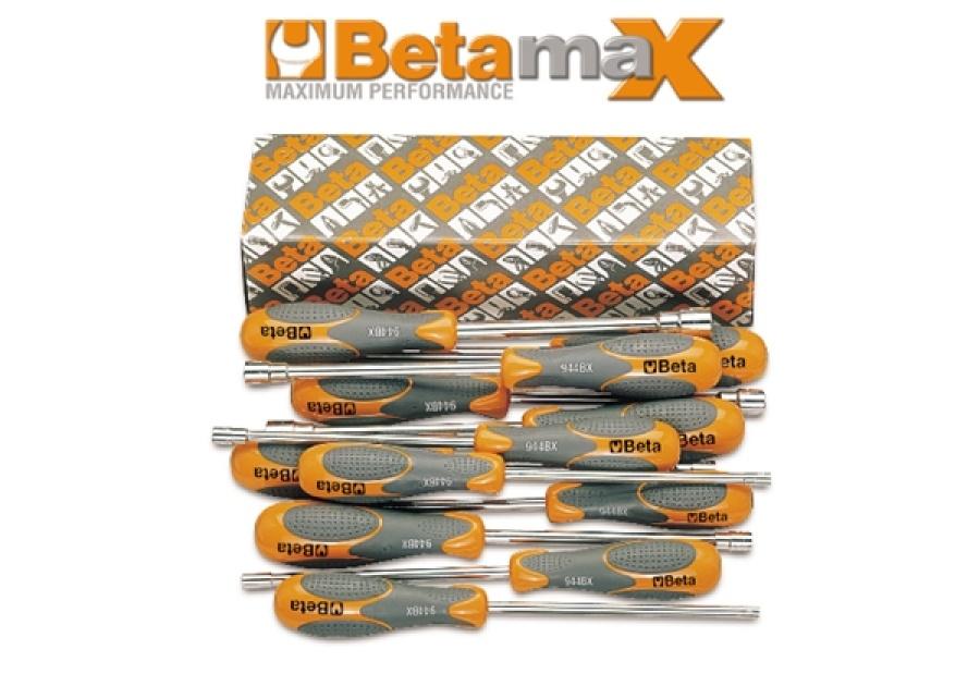 Serie chiavi a bussola betamax esagonale profonda lunga  beta 944bx/s12 - dettaglio 1