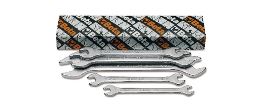 Serie chiavi a forchetta doppie  beta 55as/5 - dettaglio 1