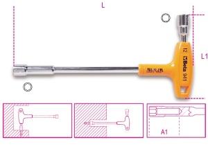 Chiave a pipa con impugnatura esagonale-poligonale  beta 941 - dettaglio 1