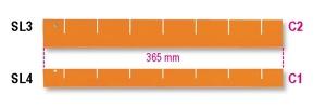 Separatore longitudinale  beta sl/3-4 - dettaglio 1