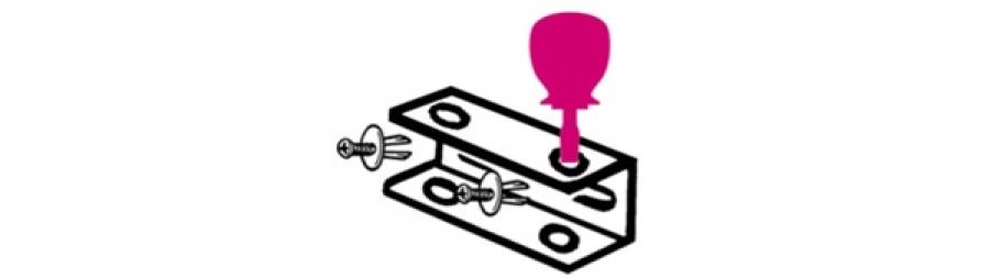 Supporto giraviti nani  beta sgn - dettaglio 1