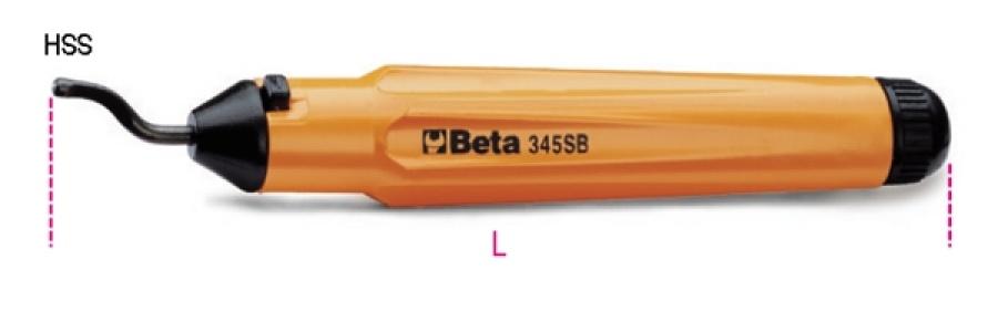 Sbavatore a raschietto  beta 345sb - dettaglio 1