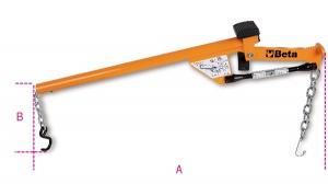 Leva testina braccio e ammortizzatori  beta 1567 - dettaglio 1