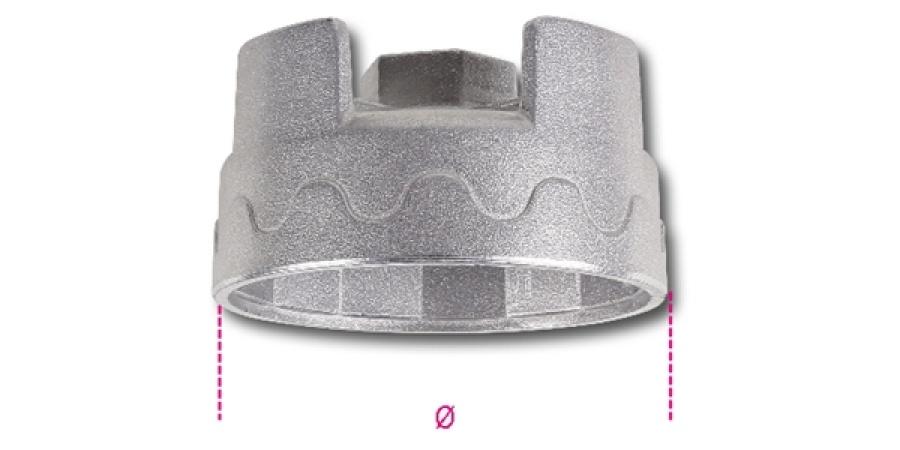 Bussola filtri olio  1/2 beta 1493al - dettaglio 1