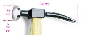 Martello per carrozzieri  beta 1345 - dettaglio 1