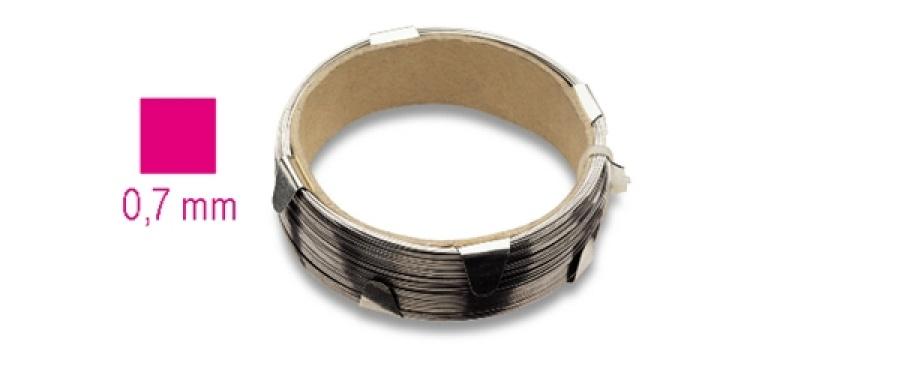 Cavo acciaio cristalli  beta 1766g - dettaglio 1