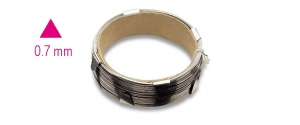 Cavo acciaio cristalli  beta 1766t - dettaglio 1