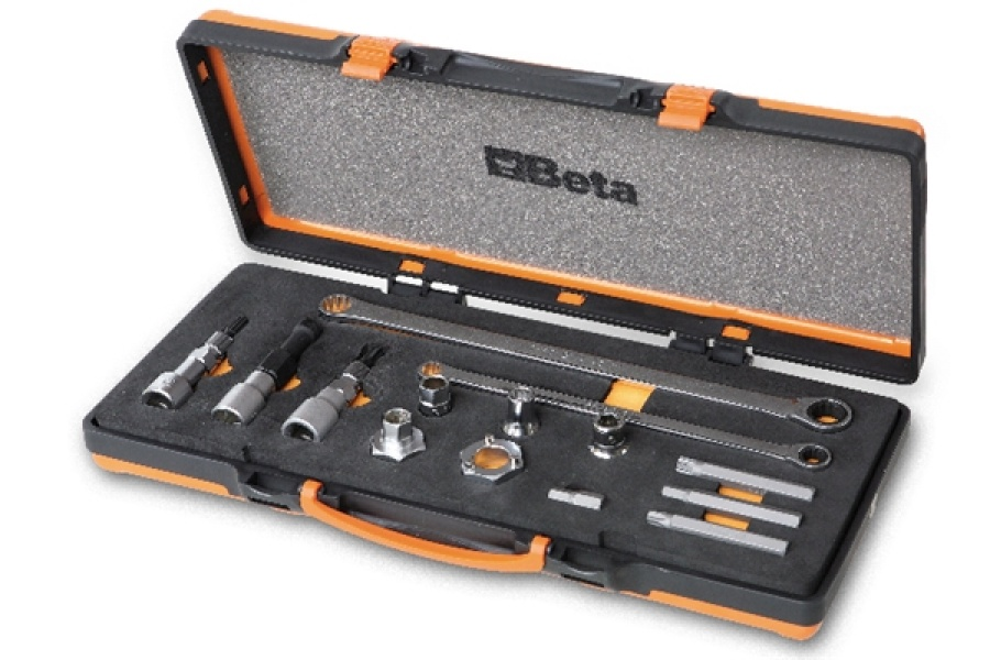Assortimento utensili pulegge libere alternatori  beta 1489/c14 - dettaglio 1
