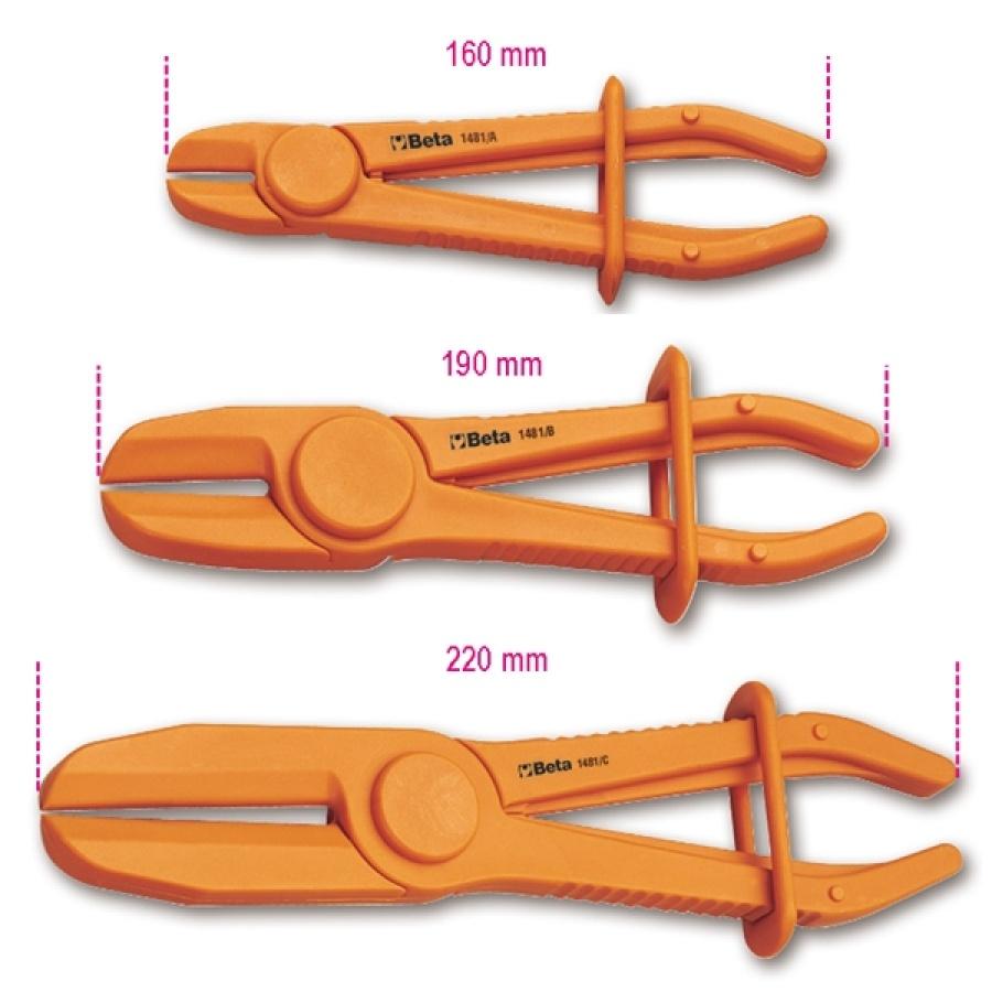 Pinza occlusione tubi e manicotti  beta 1481pl - dettaglio 1
