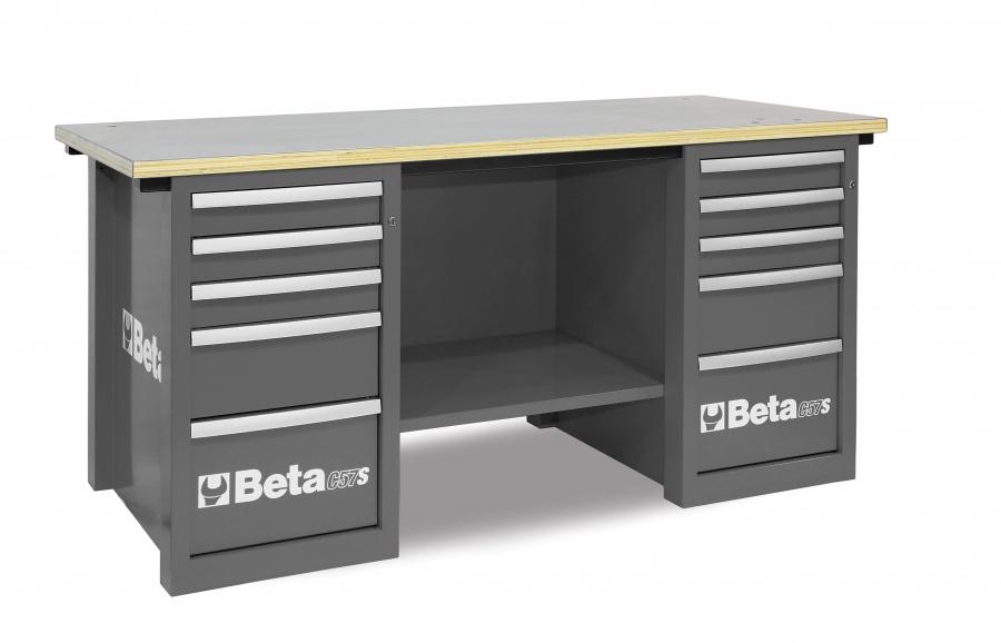 Banco da lavoro mastercargo  beta c57s c gray