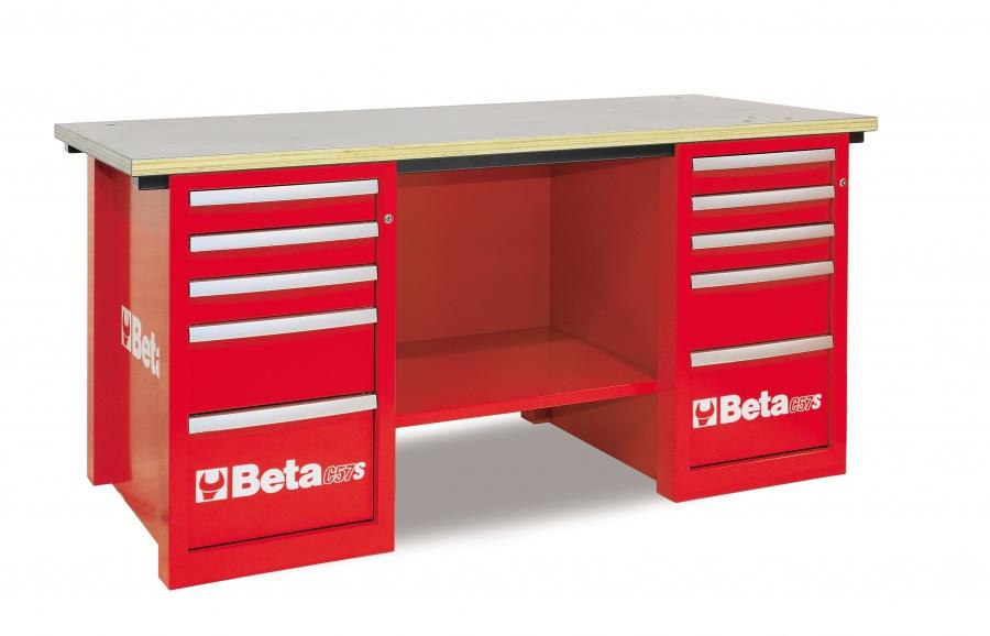 Banco da lavoro mastercargo  beta c57s c red