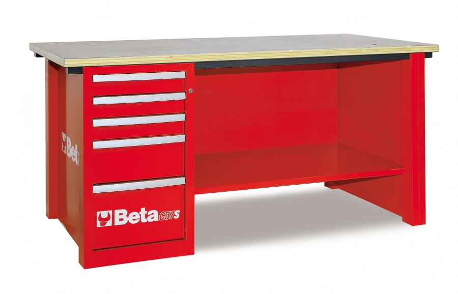 Banco da lavoro mastercargo  beta c57s d red