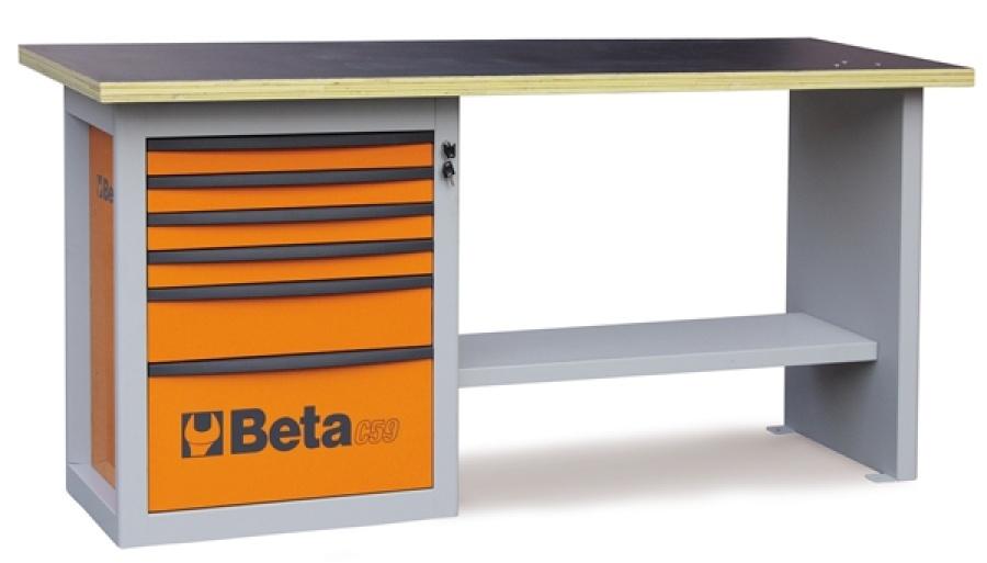 Banco da lavoro endurance  beta c59a - dettaglio 1