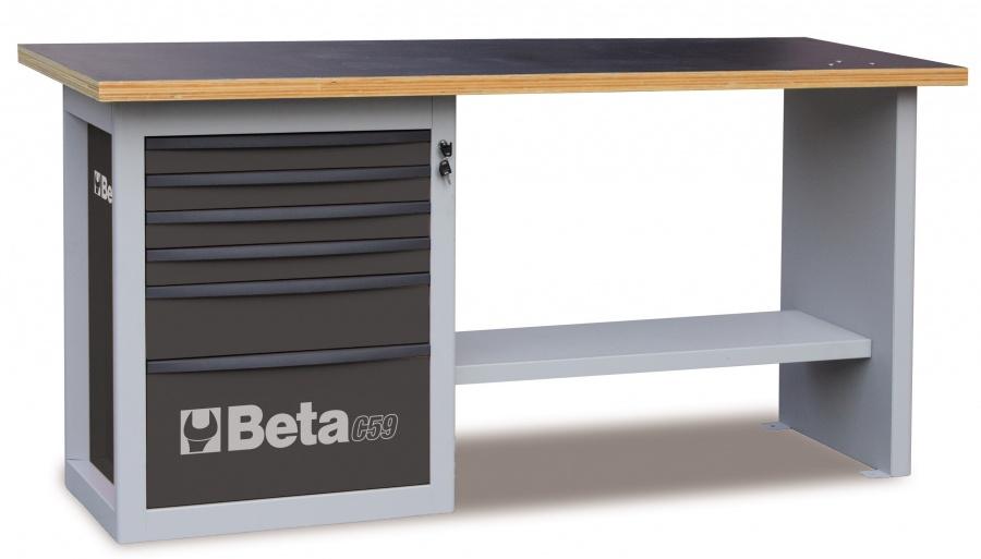 Banco da lavoro endurance  beta c59a gray