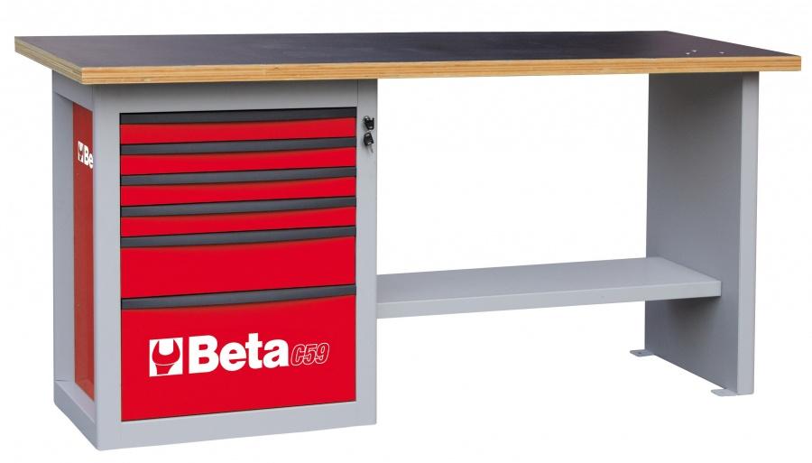 Banco da lavoro endurance  beta c59a red