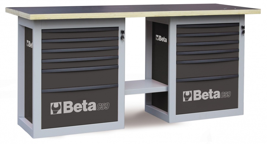 Banco da lavoro endurance  beta c59b gray