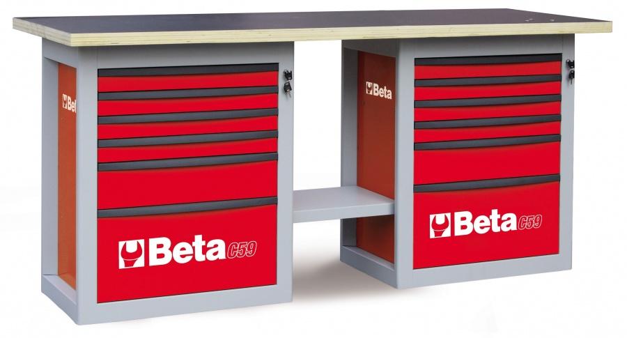 Banco da lavoro endurance  beta c59b red