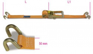 Sistema Cinghia di ancoraggio a Cricchetto Robur 8182S Mt. 10,5