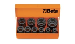 Serie chiavi a bussola macchina  3/8 beta 710/c10 - dettaglio 1