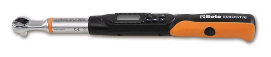 """Chiave dinamometrica elettronica con cricchetto 3/8"""" beta 599dgt/6 - dettaglio 1"""