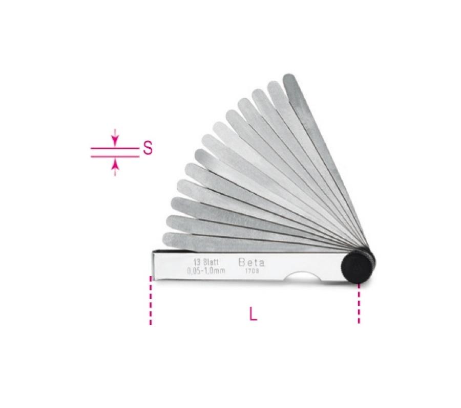 Spessimetro  beta 1708 - dettaglio 1