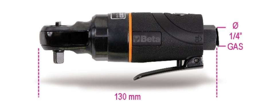 """Cricchetto pneumatico 1/4"""" reversibile beta 1921b1 - dettaglio 1"""