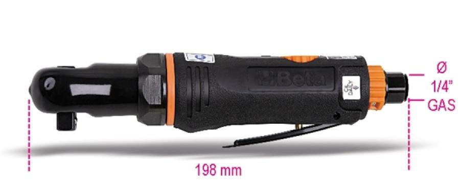 """Cricchetto pneumatico 3/8"""" compatto reversibile beta 1921m2 - dettaglio 1"""