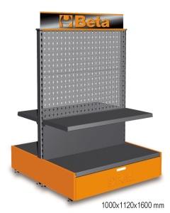 Gondola espositiva vuoto beta c68g - dettaglio 1