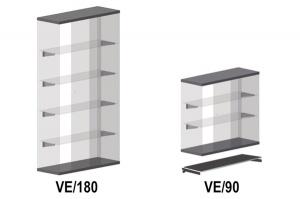 Barra porta appendini  beta 6800ba - dettaglio 1
