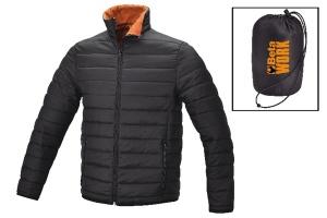 Giacca trendy imbottita nera beta 7685 - dettaglio 1