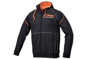 Softshell racing nero/arancio beta 9504s - dettaglio 1