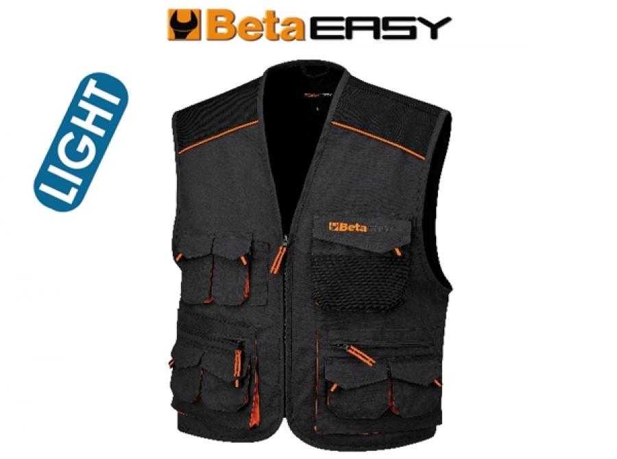 Gilet easy twill beta 7867e grgio - dettaglio 1