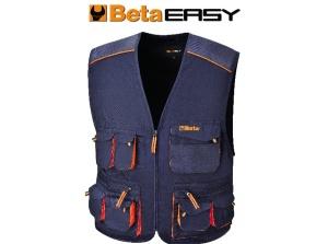Gilet easy twill beta 7877e blu - dettaglio 1