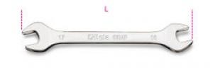 Chiavi a forchetta doppie lucide Beta 55MP mm. 25x28