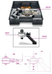 Moltiplicatore di coppia 2.700 nm con accessori beta 560/c4+ - dettaglio 1