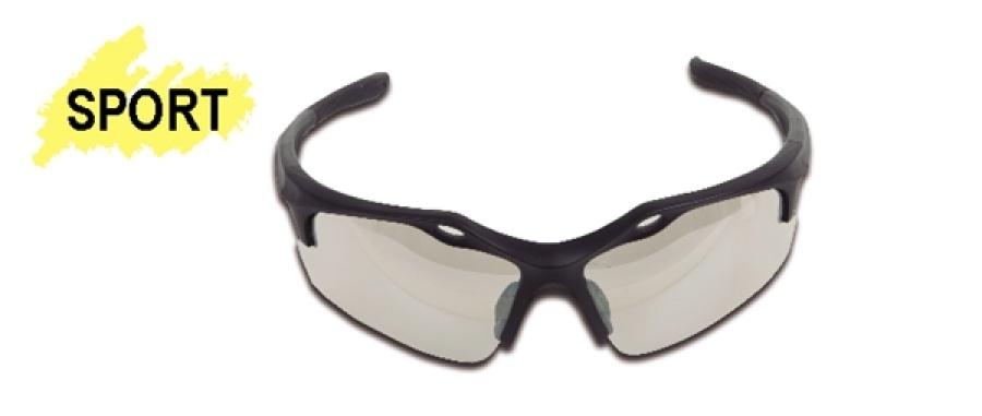 """Occhiali """"sport black"""" lenti clear bc beta 7076 bc - dettaglio 1"""