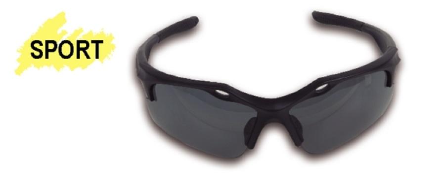 "Occhiali ""sport black"" lenti dark bd beta 7076 bd - dettaglio 1"
