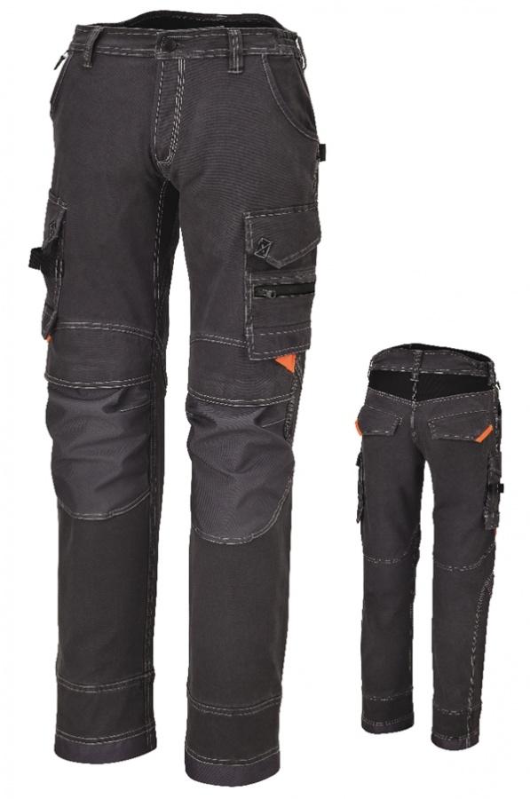 Pantaloni multitasche beta 7816g grigio - dettaglio 1