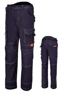 Pantaloni multitasche beta 7816bl blu - dettaglio 1