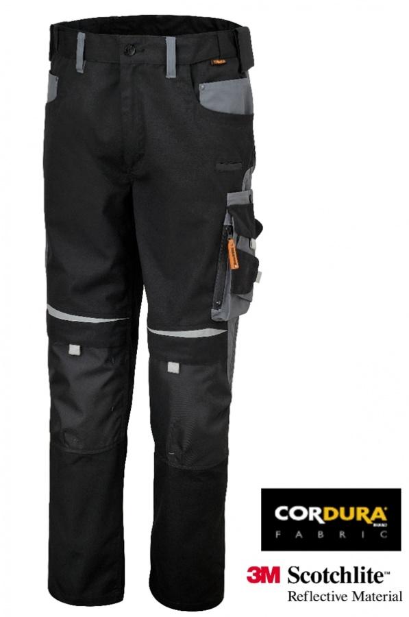 Pantaloni work canvas beta 7820 nero - dettaglio 1